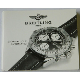 Livret d'instruction BREITLING Chrono Colt Automatic