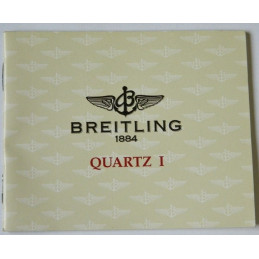 Livret d'instruction BREITLING Quartz I