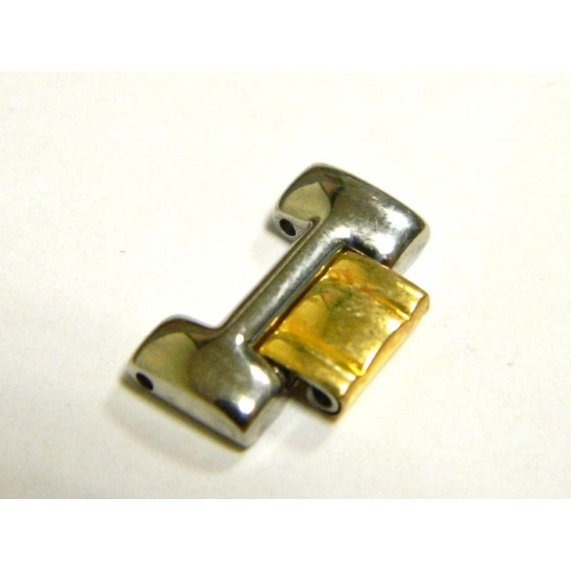 Maillon acier et doré FERRARI 15mm