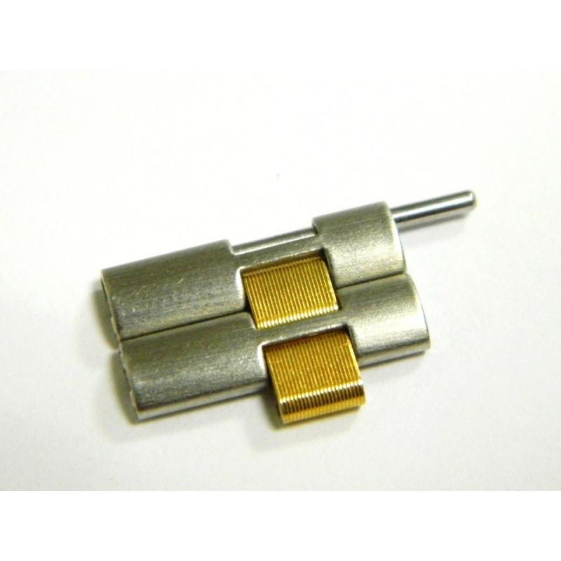 Maillon acier et doré FERRARI 16mm
