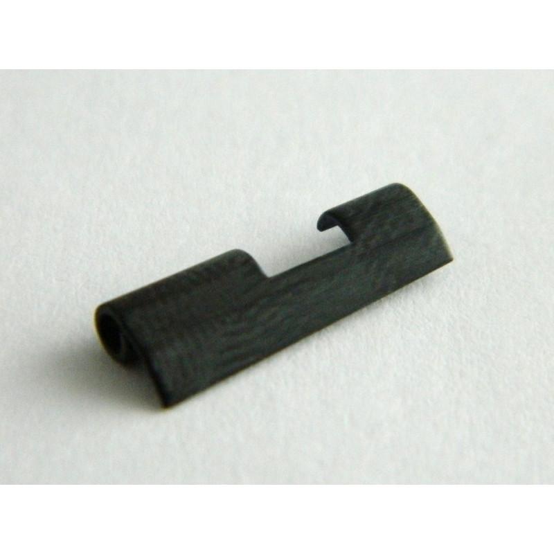 Maillon de bout acier noir FERRARI 16mm