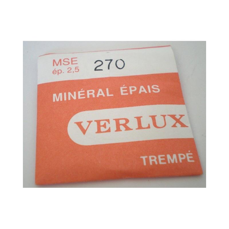verre VERLUX minéral 270mm