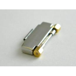 Maillon acier et doré CORUM 17mm