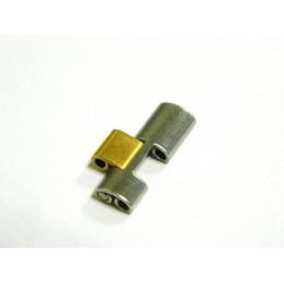Maillon acier et doré FERRARI 13mm