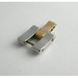 maillon Baume & Mercier Linea or/acier 14mm
