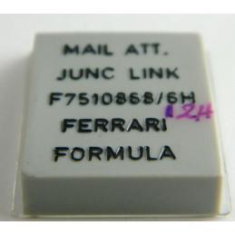Maillon de bout acier  FERRARI 13mm