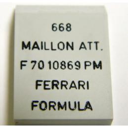 Maillon de bout acier FERRARI 13mm PM