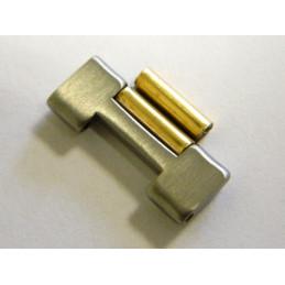 Maillon doré et acier brossé FERRARI 17mm