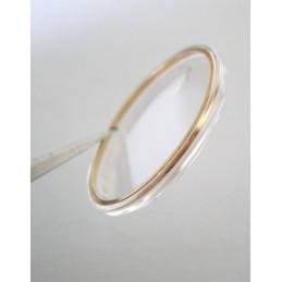 verre BULOVA plexi avec loupe 25,64mm