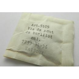 Vis de pont de barillet Valjoux 7733/34/36 - pièce 5105