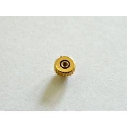Couronne plaquée or PEQUIGNET 3.50mm