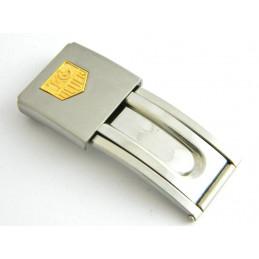 Fermoir acier/doré TAG HEUER 15mm