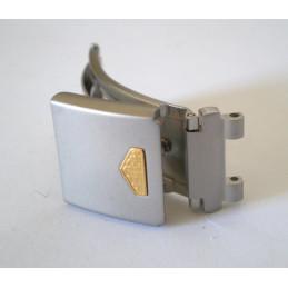 fermoir HEUER gris/doré 15mm