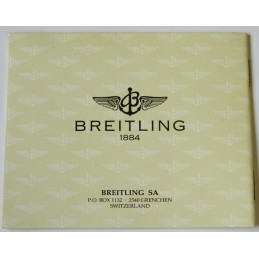 Livret d'instruction BREITLING Quartz II