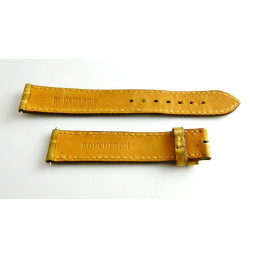 Bracelet croco beige BOUCHERON - 18 mm -