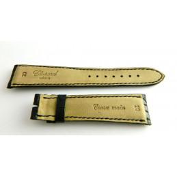 Bracelet crocodile noir CHOPARD 20mm
