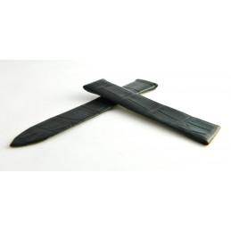 Bracelet crocodile noir PIAGET 20mm