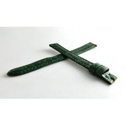 Bracelet crocodile vert brillant CARTIER 10mm