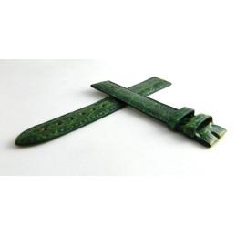 Bracelet crocodile vert CARTIER 16mm