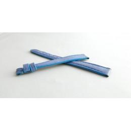 Bracelet cuir bleu lavande CARTIER 11mm