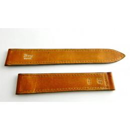 Bracelet cuir marron BRY  18mm
