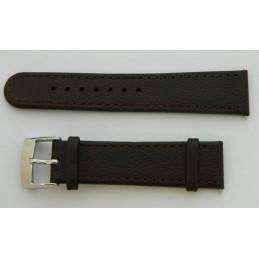 Bracelet cuir marron SWISS ARMY