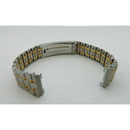 Bracelet or/acier RADO 15mm