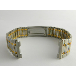 Bracelet or/acier RADO 21mm