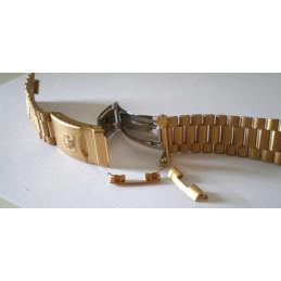 Bracelet Tag Heuer doré 20mm