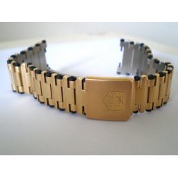 bracelet TAG HEUER doré 21mm
