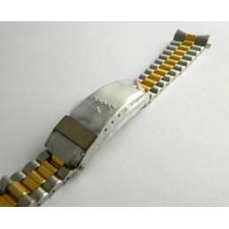 ZODIAC golden/steel stap 16mm