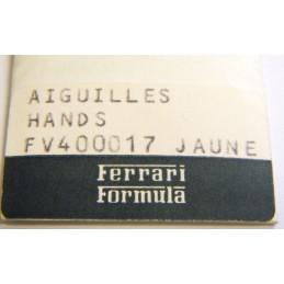 Aiguilles jaunes FERRARI Formula  FV400017
