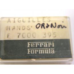 Aiguilles ors noires FERRARI F7000 395