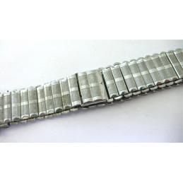 Ancien bracelet ZRC extensible chromé, 21,38mm