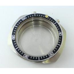 Boitier de chronographe Valjoux 7733 tout acier neuf