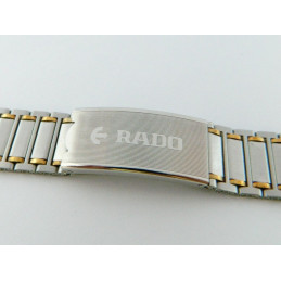 RADO two coloured strap 21mm