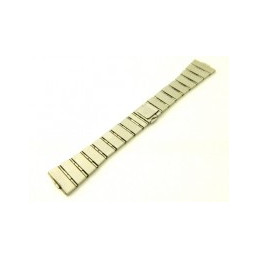 BAUME & MERCIER steel/golden strap 18mm