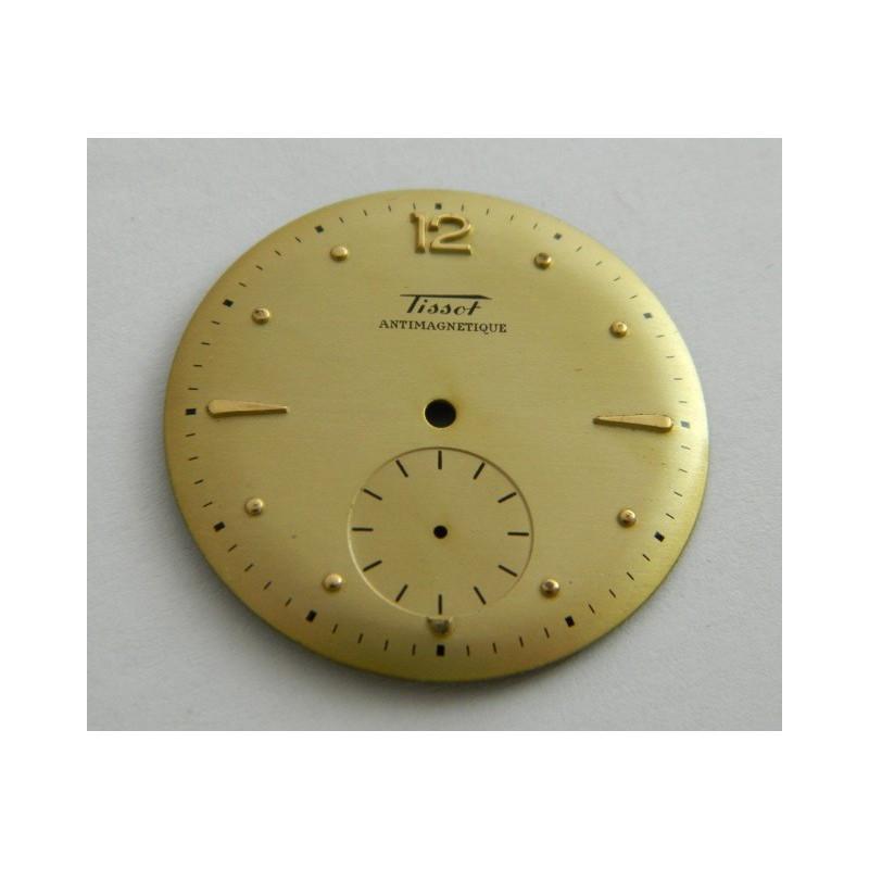 cadran doré TISSOT automatic ancien - 31.95mm