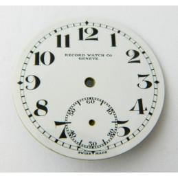 Cadran émaillé RECORD 36.60mm