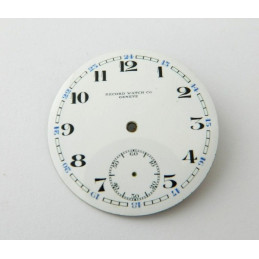 Cadran émaillé RECORD 42.35mm