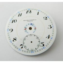 Cadran émaillé RECORD 43.35mm