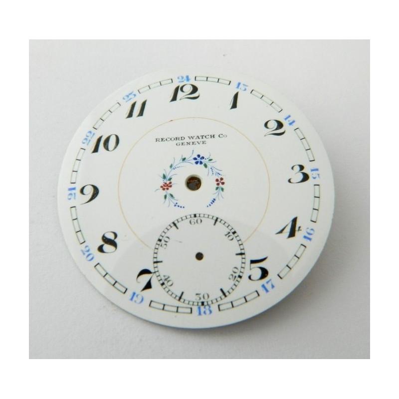 RECORD enemal dial 43.35mm