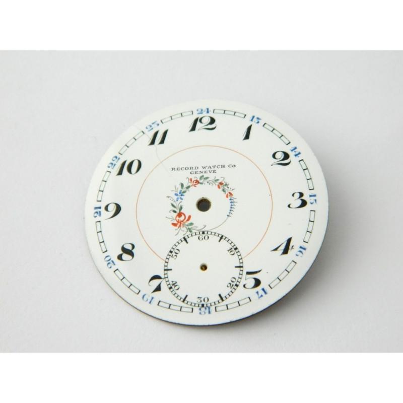 RECORD enemal dial 43.50mm