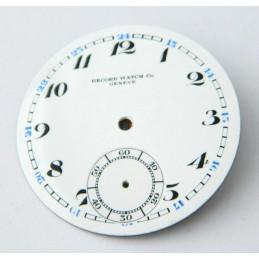 Cadran émaillé RECORD 41.50mm