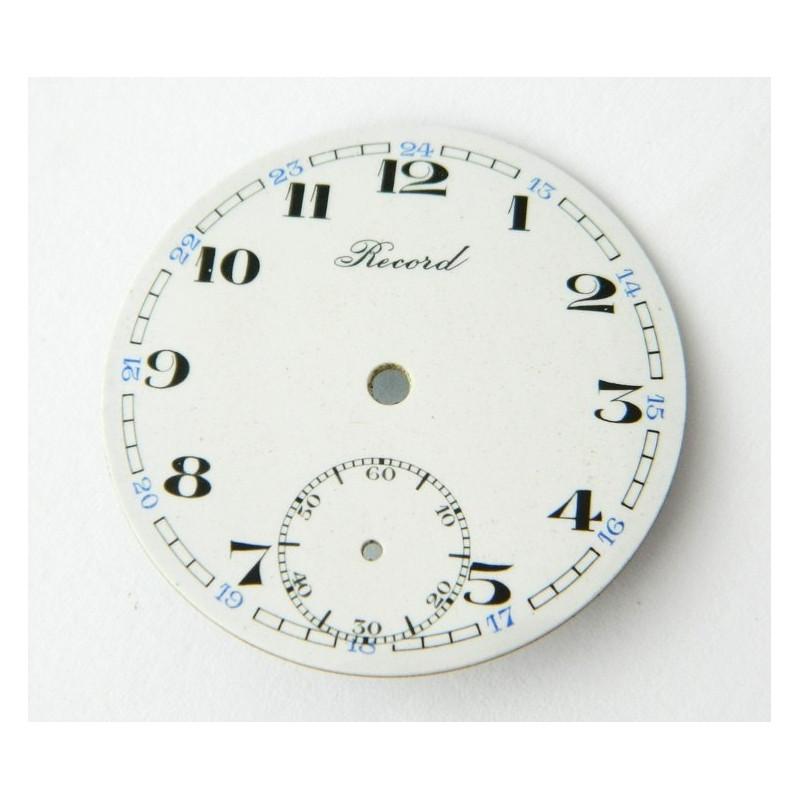 RECORD enemal dial 37.70mm