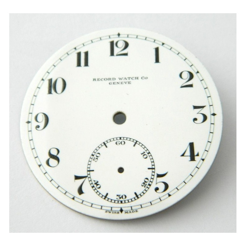 RECORD enemal dial 42.15mm