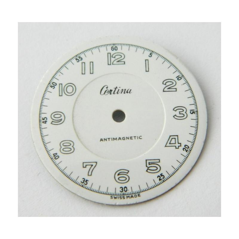 Cadran émaillé CERTINA 29.35mm