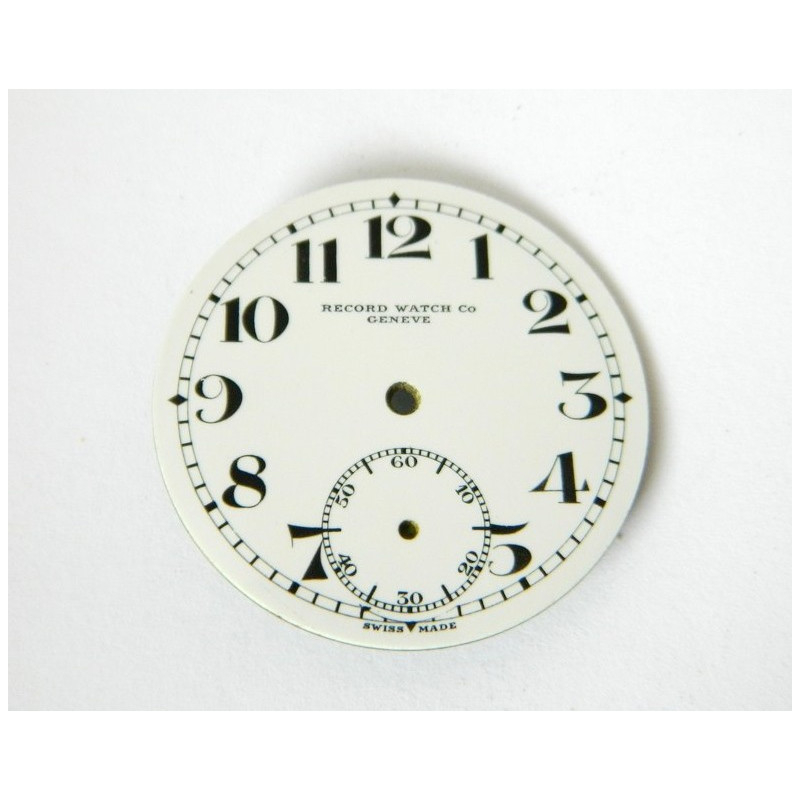 RECORD enemal dial 27.65mm