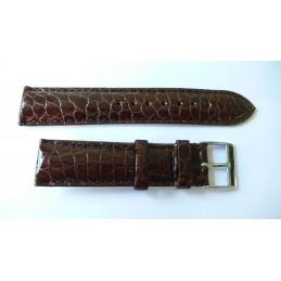 Crocodile strap 22mm
