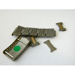 HEUER titanium buckle & links